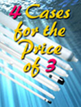 4 Cases for the Price of 3