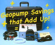 Geopump Savings that Add Up!