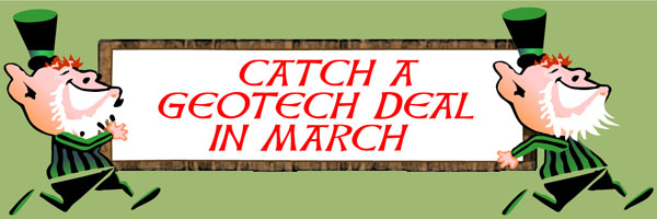 Catch a Geotech deal in March