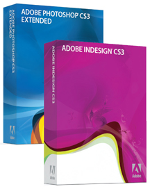 Photoshop and InDesign