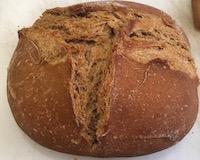 Pão fermentação natural