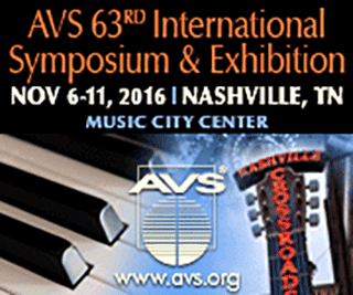 AVS 63rd International Symposium & Exhibition