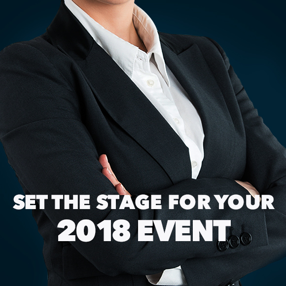 Book Your 2018 Event With Us!