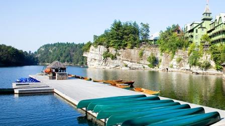 Boat Dock                                                            - Lake Mohonk                                                            - Summer                                                            Vacations
