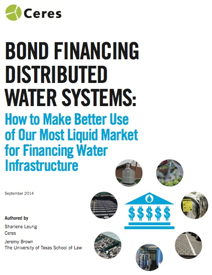 Bond Financing Report Cover