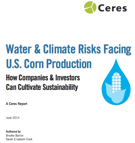 Water and Climate Risks Facing US Corn Production