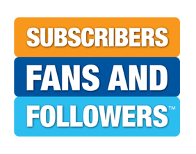 Subscribers, Fans, and Followers Logo