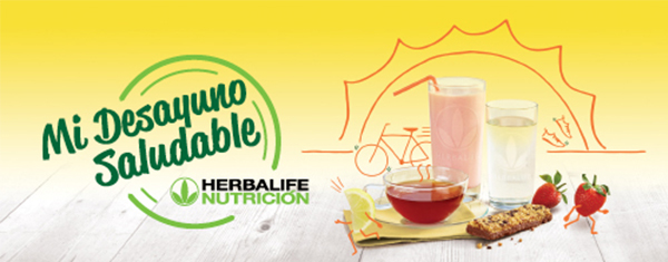 Herbalife Healthy Breakfast banner