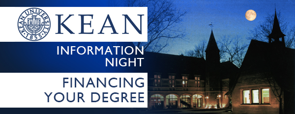 Kean Information Session - Financial Aid