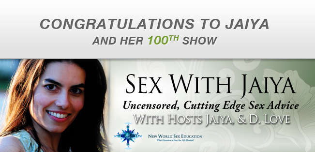 Congratulations to Jaiya in her 100th episode!