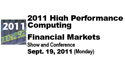 High Performance Computing Financial Markets