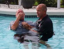 Pool Baptism 1