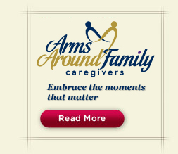 Arms Around Family Caregivers brought to you by Synergy HomeCare