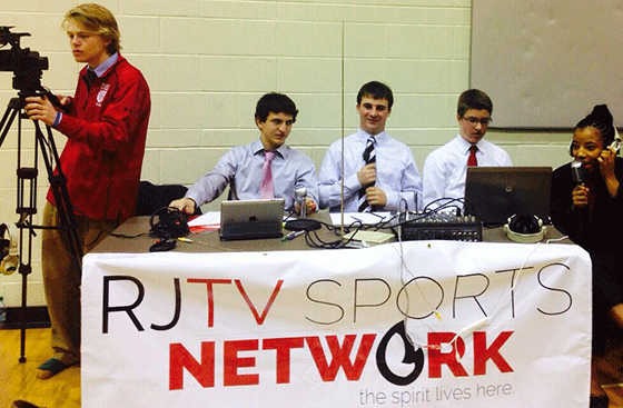 Student Broadcast Program in Action - Regis Jesuit High School