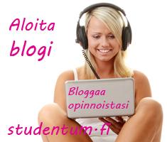 Aloita blogi