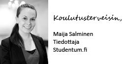 Maija Salminen, Studentum.fi