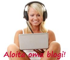 Aloita oma blogi