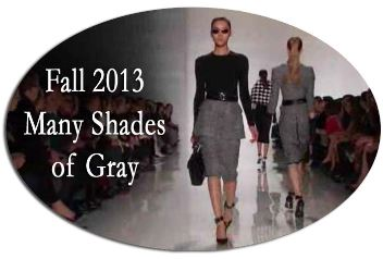 50 shades of gray for fall