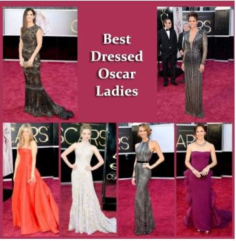 best dressed at the oscars