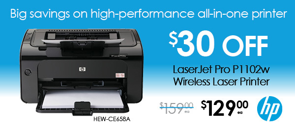 Big savings on high-performance all-in-one printer
