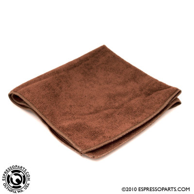 Brown Microfiber Towel