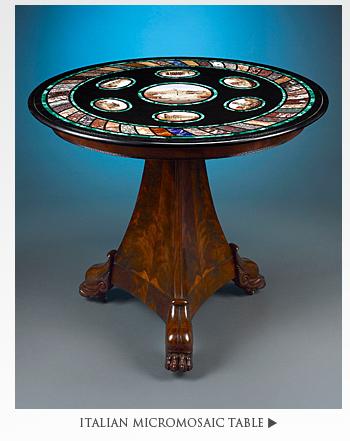 Italian Micromosaic Table