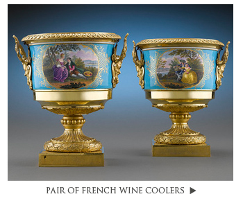 Pair of French Wine Coolers