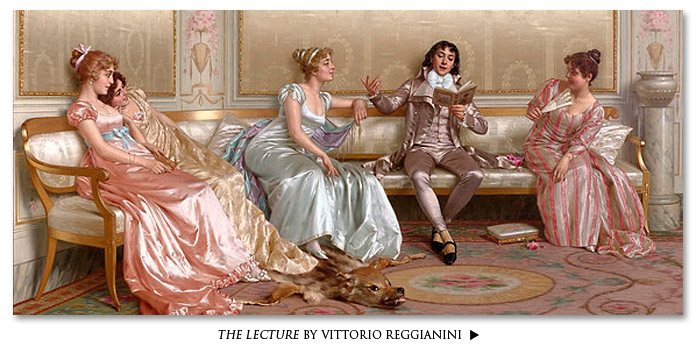 The Lecture by Vittorio Reggianini