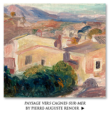 Paysage vers Cagnes-sur-Mer by Pierre-Auguste Renoir