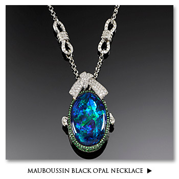 Mauboussin Black Opal Necklace