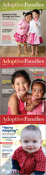 Get your free issue of Adoptive Families