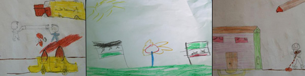 Syria-child-drawings