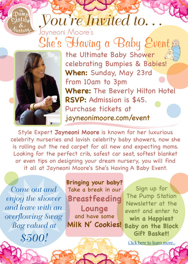Jayneoni Moore's She's Having a Baby Event