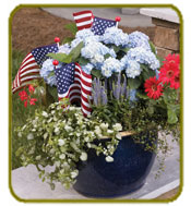 Mini Penny - make a Mother's Day container into a July the 4th container