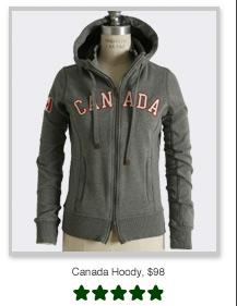 Canada Hoody, $98