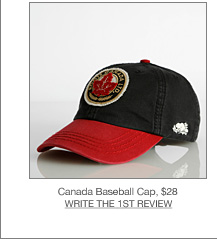 Canada Baseball Cap, $28