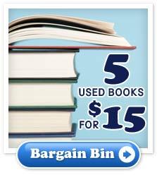 Bargain Bin - 5 used  books for $15
