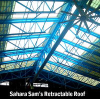 Sahara Sam's Retractable Roof