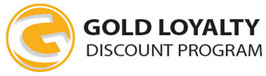 Gold Loyalty Discount Program