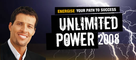 Energise Your Path to Success - Unlimited Power 2008