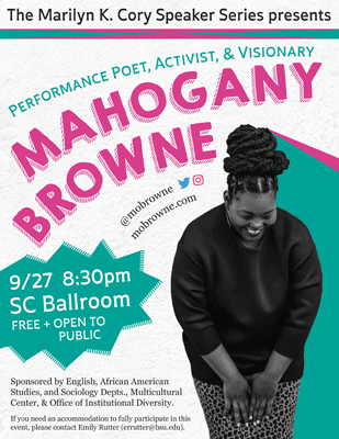 Mahogany Browne PosterSmall