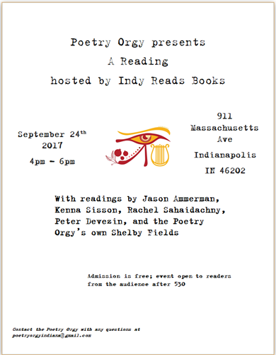Poetry Orgy Sept 24