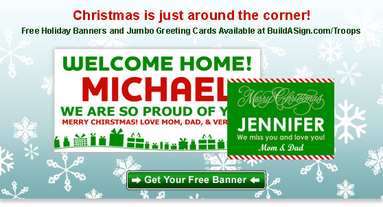 Christmas is Almost Here - Get Your Free Banner!