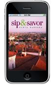 Sip & Savor App - Home