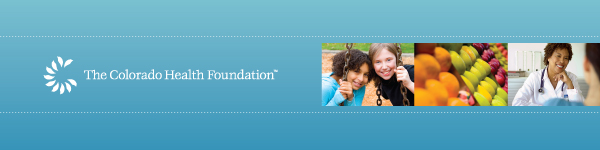 The Colorado Health Foundation Header