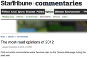 Screenshot: StarTribune Commentaries