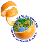 2012 Senior Class Gift - Reach out. Step Forward. Give Back.