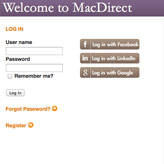 Ad: MacDirect Screenshot