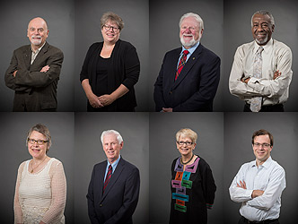 Photo of 2014 Alumni Award winners.