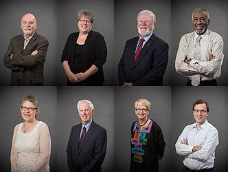 Photo of 2014 Alumni Award winners.
